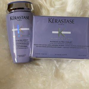 Bain Ultra violet shampoo and hair mask brand new